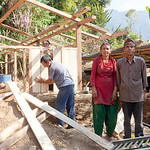 ShelterBox beneficiaries in Pipaldanda, Sindupalchowk, Nepal