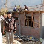 ShelterBox beneficiary in Pipaldanda, Sindupalchowk, Nepal