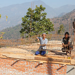 Rebuilding, Pipaldanda, Nepal