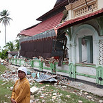 Collapsed Mosque, Kuto Rajo Village, South  Kota Pariaman, West