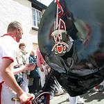 Red Oss-Padstow-Obby Oss-Cornwall-UK