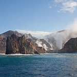 White Island volcano, Whakatane, Bay of Plenty, New Zealand