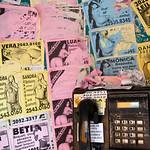Public phone booth, Rio De Janeiro, Brazil